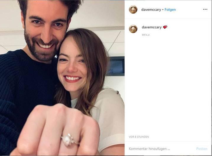 Vip-News: Emma Stone hat sich verlobt
