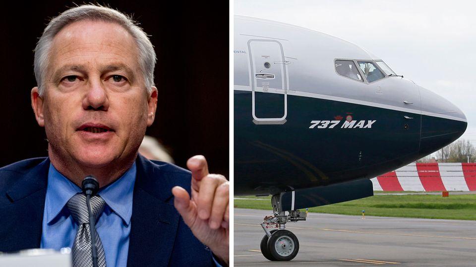 Chefingenieur John Hamilton und eine Boeing 737 Max