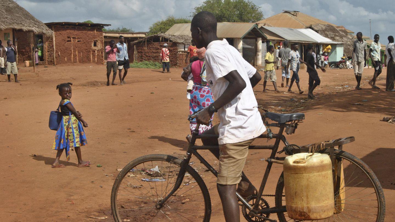 Ein Dorf in Kenia