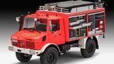 Sieger Kategorie P   Modellbau: 1:24/25 Nutzfahrzeuge  Unimog RW1  Revell, Preis: 69,99 Euro