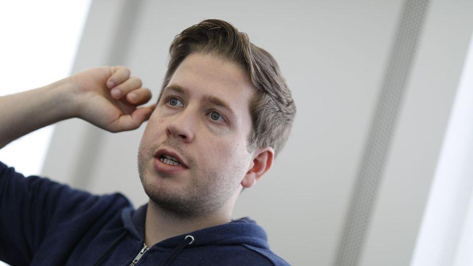 Kevin Kühnert, Juso-Vorsitzender
