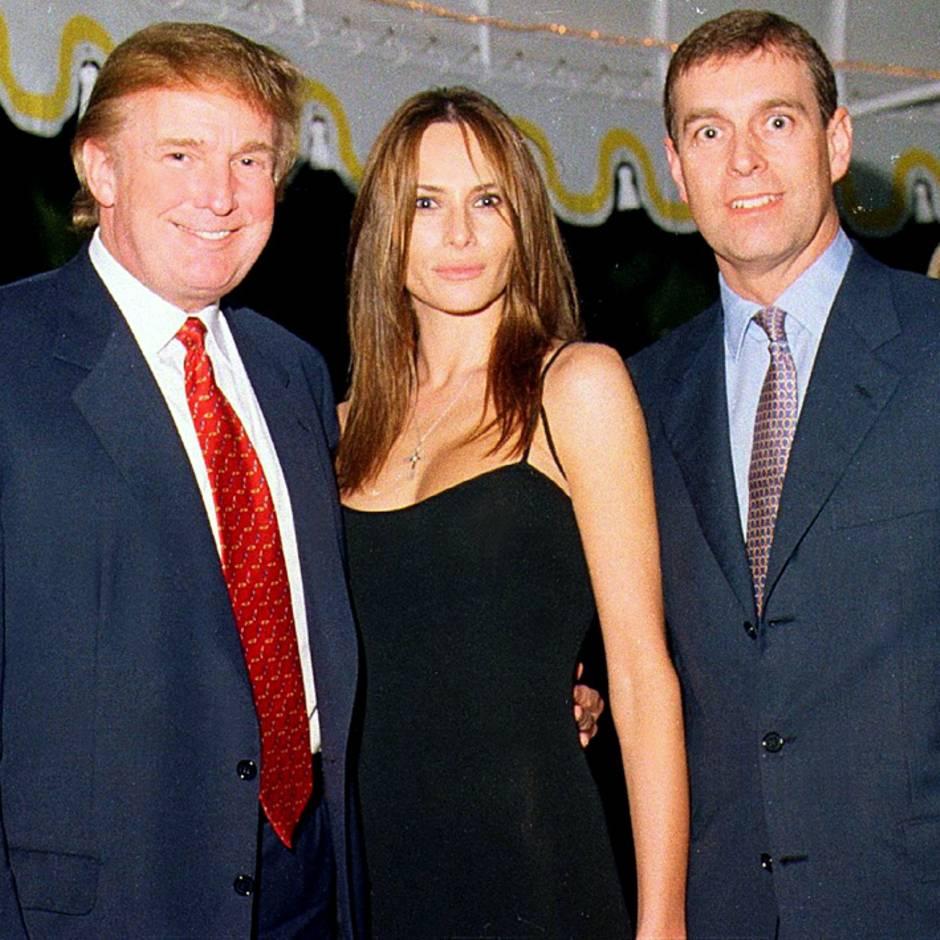Halloween-Party 2000: Heidi Klum feierte mit Prinz Andrew und Donald Trump – und das Motto der Party ist vielsagend