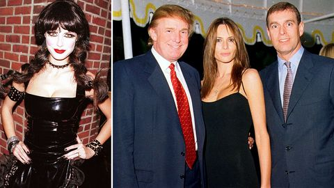 Heidi Klum, Donald Trump, Melania Trump, Prinz Andrew