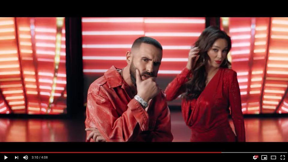 Verona Pooth tritt im Musikvideo von Rapper Shindy auf