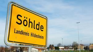 Schild von Söhlde im Landkreis Hildesheim