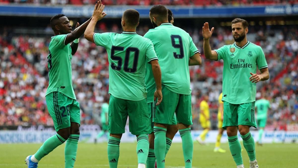 Zeichen fürs Klima: Real Madrid spielt in grünen Trikots gegen Espanyol