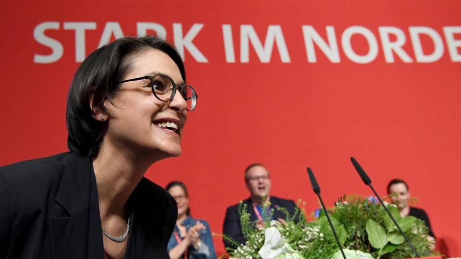 Serpil Midyatli, SPD-Landeschefin aus Schleswig-Holstein, soll Bundesvize der Partei werden