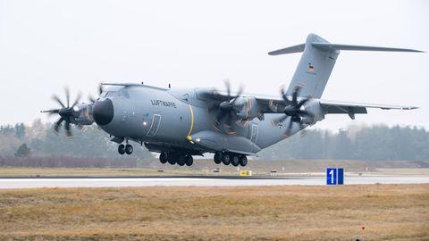 Transportflugzeug A400M der Bundeswehr