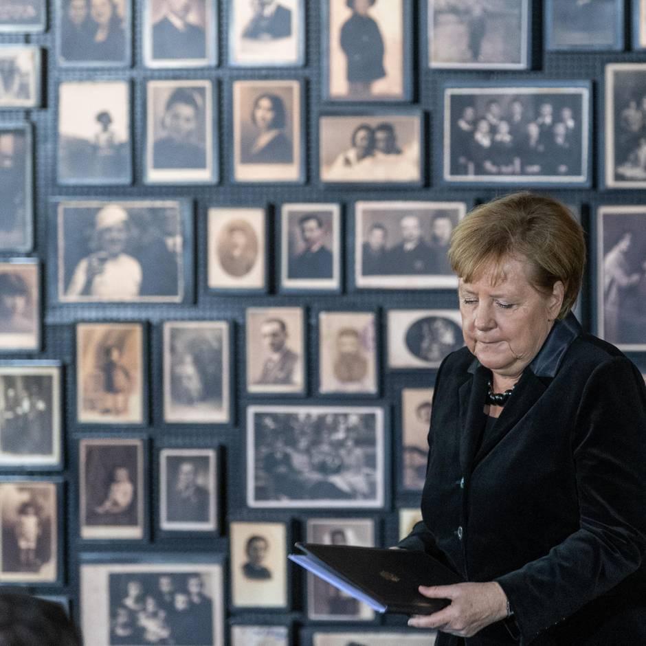 """News von heute: Merkel: Erinnerung an Auschwitz """"ist fester Teil unserer nationalen Identität"""""""