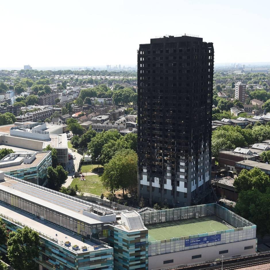 News von heute: Brand im Grenfell-Tower mit 72 Toten: Feuerwehrchefin zieht Konsequenzen