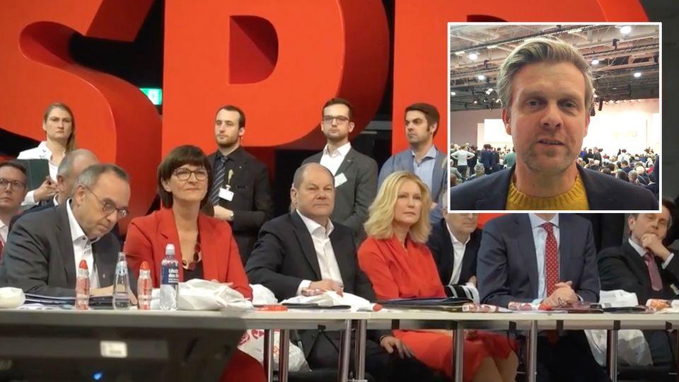 Parteitag in Berlin: Von Gewinnern, Verlierern, einem Shooting-Star und keiner neuen SPD-Hymne