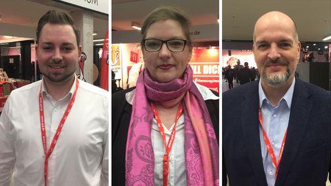 Delegierte auf dem SPD-Parteitag