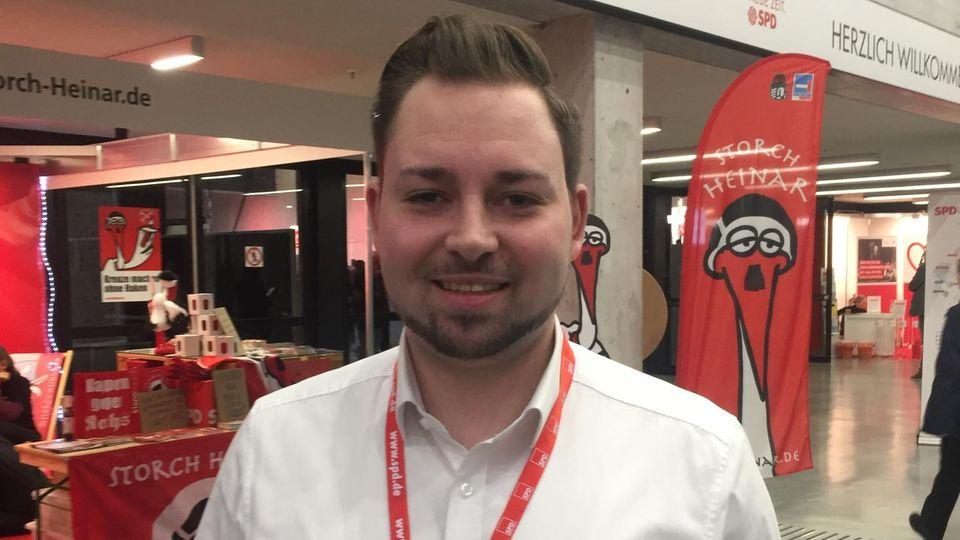 SPD-Delegierter MarkusHümpfer