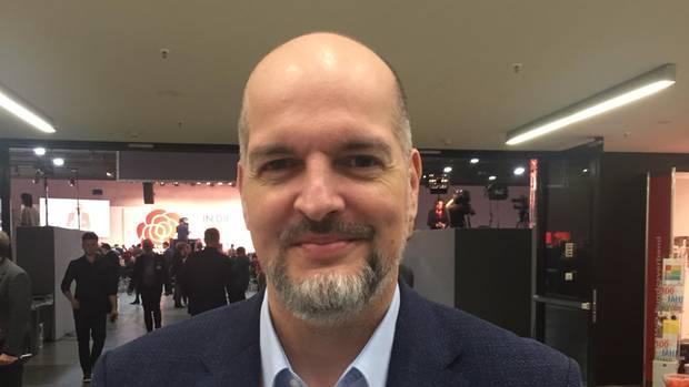 SPD-Delegierter Milan Pein