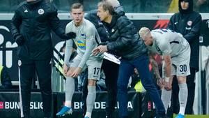 Hertha-BSC-Trainer Jürgen Klinsmann