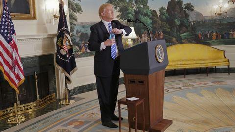 Donald Trump Wasserflasche