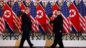 Nordkorea-USA-Treffen in Hanoi: Donald Trump und Kim Jong-Un
