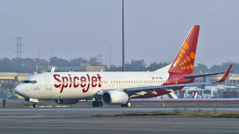 Zu Flotte des indischen Billigfliegers Spicejet gehören 80 Jets vom Typ Boeing 737