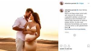 Angelina Heger und Sebastian Pannek erwarten ihr erstes Kind