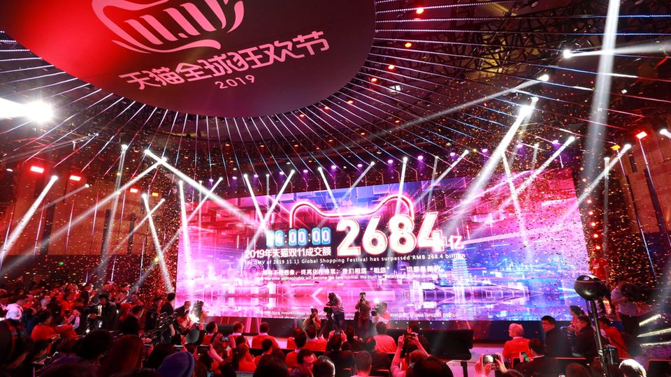 Alibaba am Singles' Day