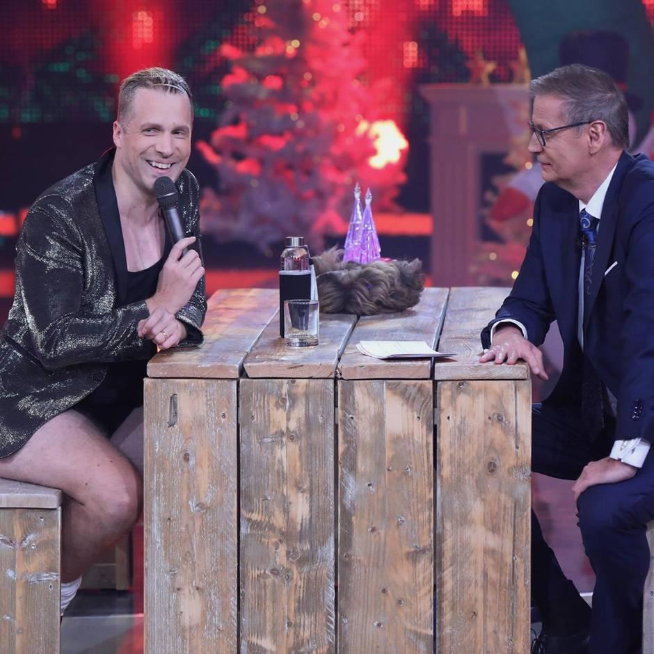 """Beim RTL-Jahresrückblick: """"Da ist ja alles schief gelaufen"""": Günther Jauch teilt gegen Oliver Pocher aus"""