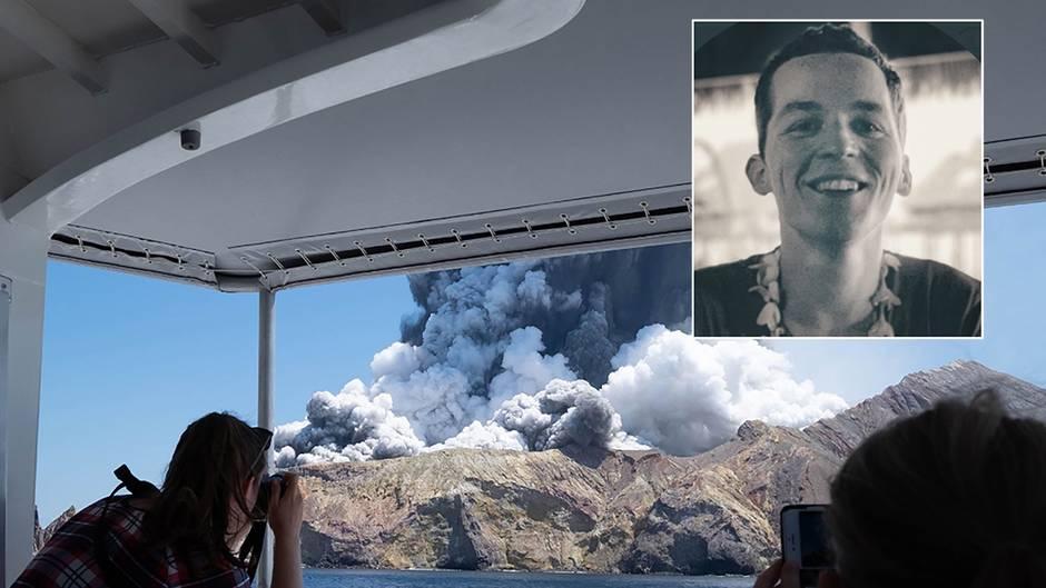 """Augenzeuge auf White Island: """"Ich war vor 30 Minuten noch am Krater"""": US-Amerikaner filmt Vulkanausbruch in Neuseeland"""