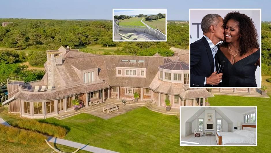 Martha's Vineyard: 11,75-Millionen-Dollar-Anwesen: So sieht die neue Villa der Obamas aus