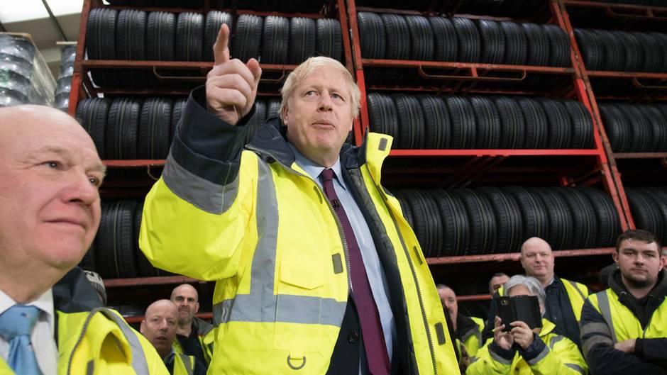 Boris Johnson, britischer Premierminister