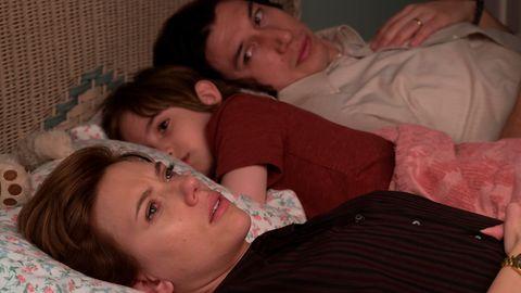 """Scarlett Johansson und Adam Driver in dem Netflix-Drama """"Marriage Story"""""""