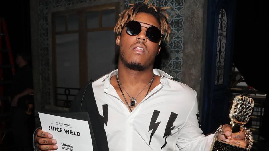 Rapper Juice Wrld wurde nur 21 Jahre alt