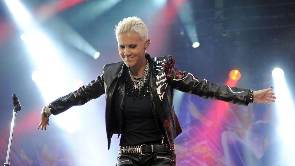 Marie Fredriksson vom schwedischen Pop-Duo Roxette