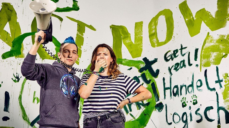 Luisa Neubauer und YouTube Star Rezo