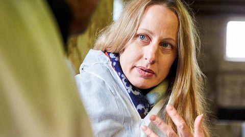 Einen Tag mit der grünen Landrätin Anna Kebschull