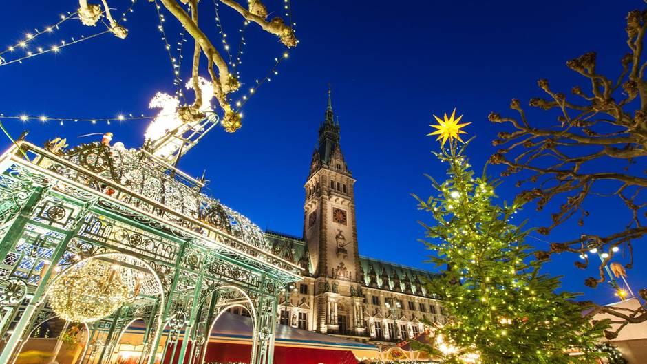 Weihnachtsmarkt in Hamburg