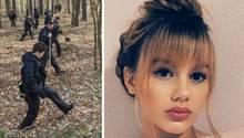 Polizei im Einsatz, vermisste Rebecca