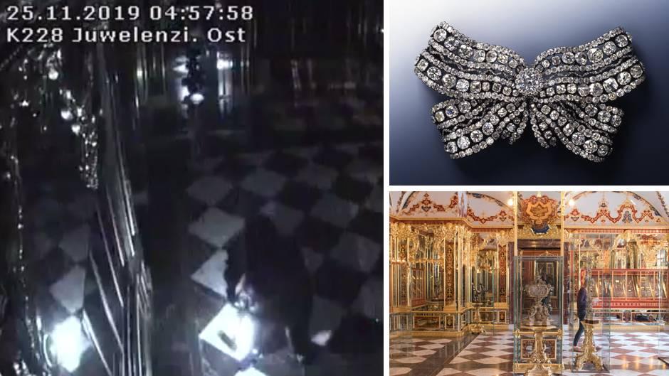 Juwelendienstahl in Dresden
