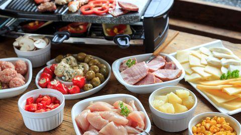 Raclette für sechs Personen