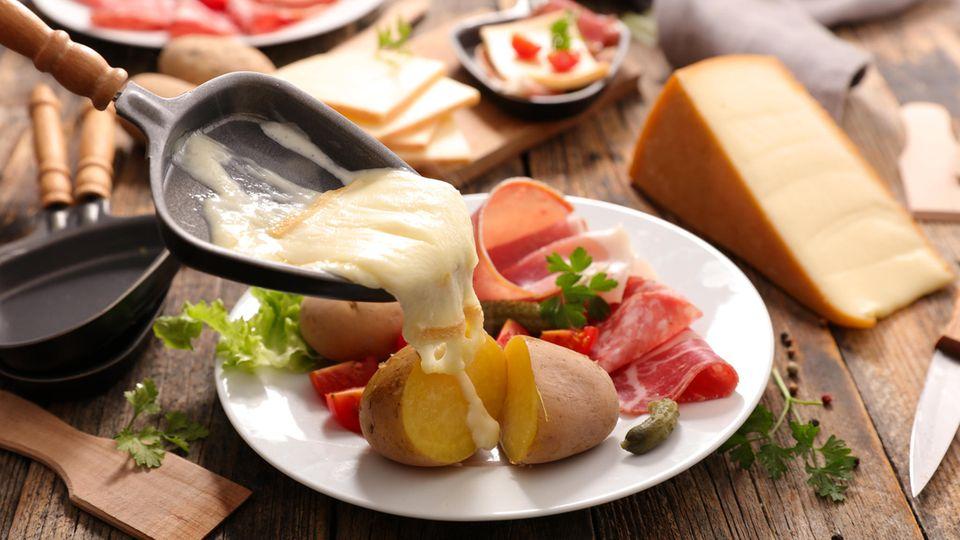 Ein wichtiges Detail: der Käse
