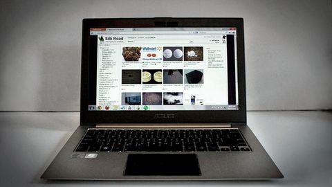 Die Webseite Silk Road