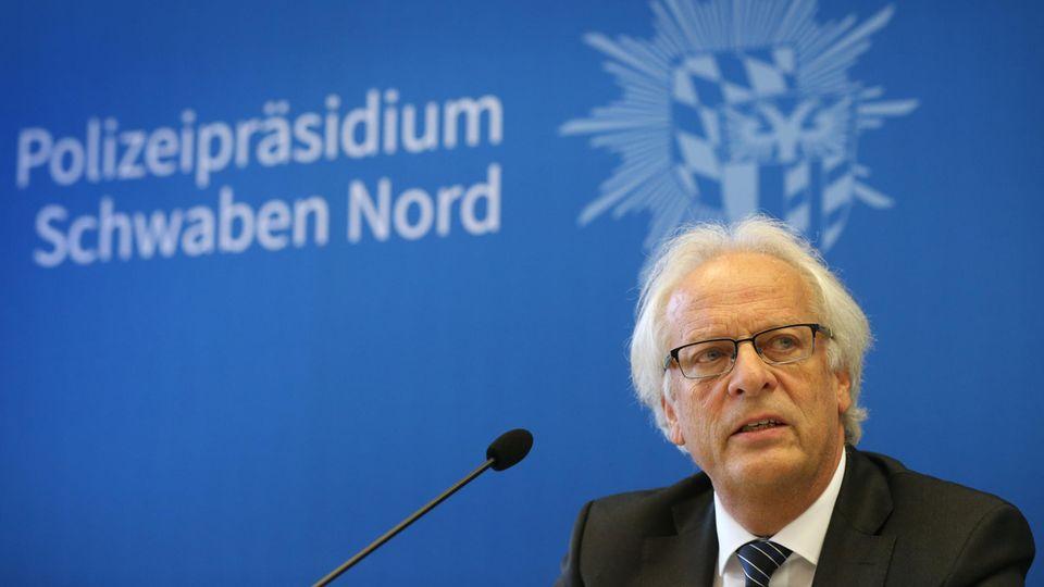 Rolf Werlitz, Leiter der Staatsanwaltschaft Augsburg