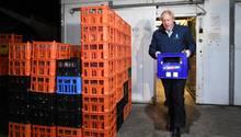 Boris Johnson auf der Flucht vor den Live-Kameras