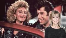 """John Travolta und Olivia Newton John in """"Grease"""""""