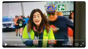 TV-Reporterin Sexuelle Belästigung
