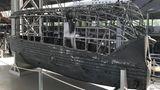 Besonderes Highligt in der Sonderausstellung: Die älteste erhaltene Gondel eines Zeppelin-Luftschiffs weltweit. Die 800 Kilogramm schwere Gondel des L 30 ist eine Leihgabe des Royal Museum of the Armed Forces and Military History in Brüssel.