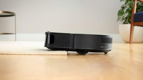 Der S9+ saugt auch Teppiche mit drei Zentimeter Dicke.