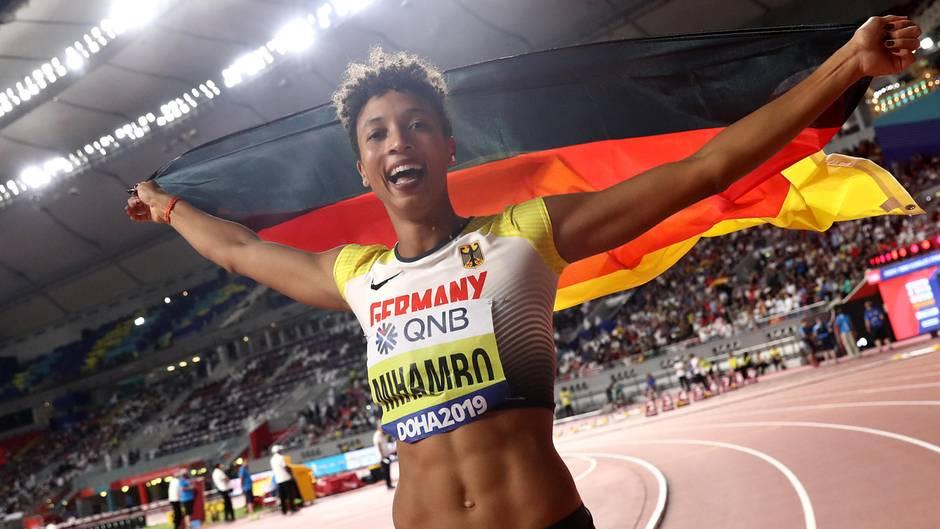 Das sind die Gewinner: Malaika Mihambo hat bei der Weltmeisterschaft in Doha überlegen Gold im Weitsprung gewonnen. Damit ist die Heidelbergerin eine der großen Hoffnungen des deutschen Teams bei den Olympischen Spielen in Tokio im nächsten Jahr. Und Sportlerin des Jahres ist sie zusätzlich geworden - zu Recht.