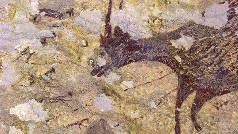Indonesien: Älteste gegenständliche Malerei der Menschheit entdeckt