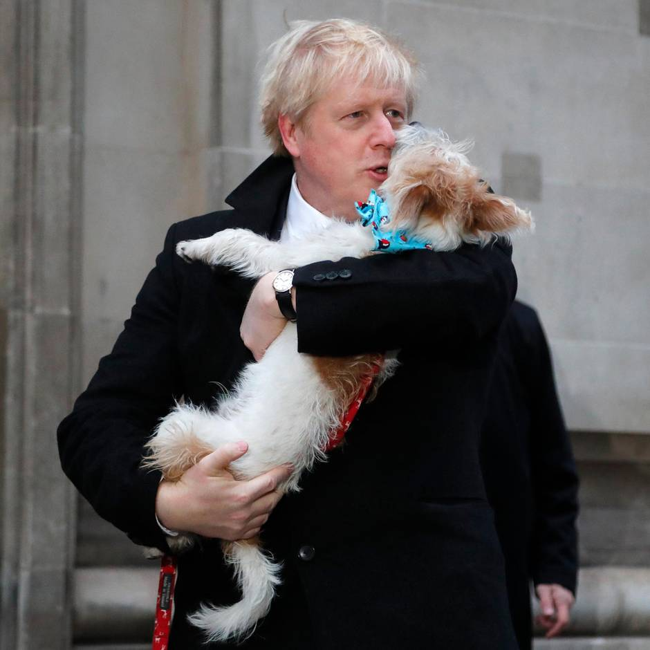 Wahl in Großbritannien: Brexit, Lügen und Kühlschrank-Tapes: Boris Johnson greift zum Bulldozer aller Wahlkämpfe