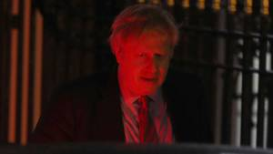 Boris Johnson in der Nach