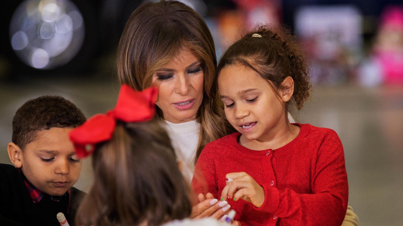 Melania Trump mit Kindern bei einer Benefiz-Veranstaltung in Washington